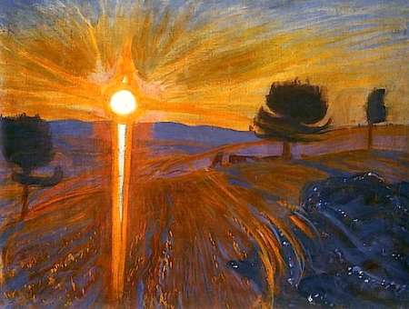 Wojciech Weiss Sunset ca1902