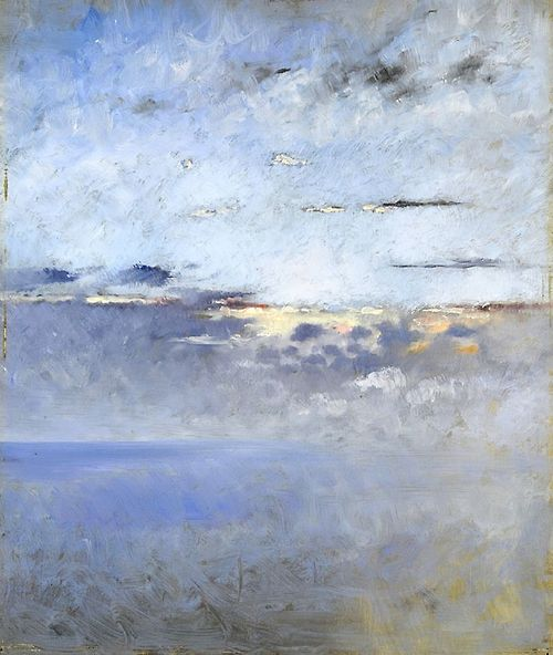 August Hagborg Sea and Clouds