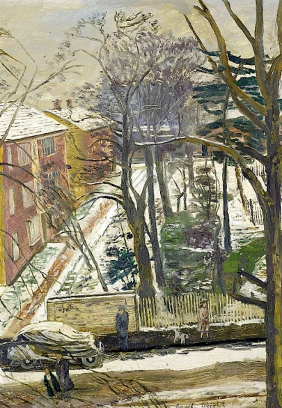 Carel Weight, R A Snow, Putney
