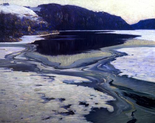 Charles Rosen Icebound River c1915
