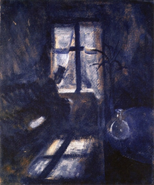 Edvard Munch Night in Saint-Cloud 1892 oil on paper