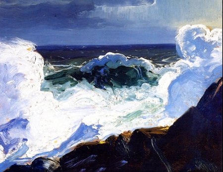 George Bellows Green Breaker 1913