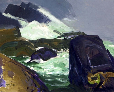 George Bellows Rock Bound 1913