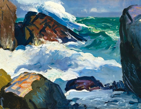 George Bellows Sunlit Surf, 1913