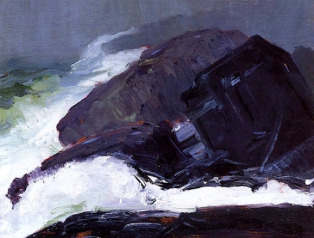 George Bellows Tang of the Sea 1913