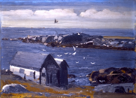 George Bellows The Gulls, Monhegan