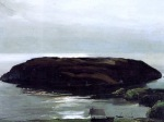 """""""An Island in the Sea"""" (1911, oil on canvas)"""