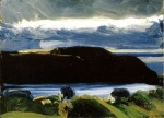 """Breaking Sky, Monhegan"" (c1916, oil on canvas)"