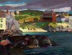 """Cloud Shadows"" (1913, oil on panel)"
