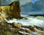 """""""Gull, Rock and Whitehead"""" (1911, oil on canvas)"""