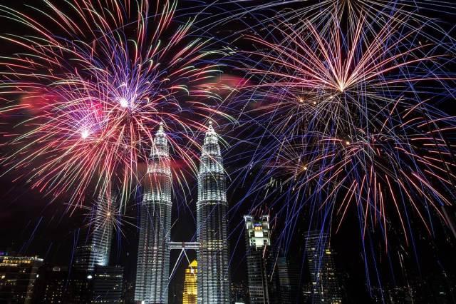 Kuala Lumpur, Layasia fireworks 2014