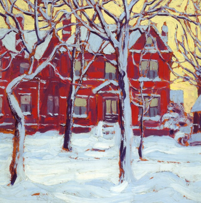 Lawren Harris Houses Group XXXIII