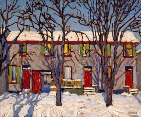 Lawren Harris Toronto Houses 1919