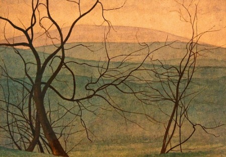 Leon Spilliaert Branches 1912