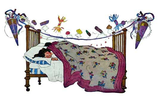 Long Winter's Nap Jessie Willcox Smith