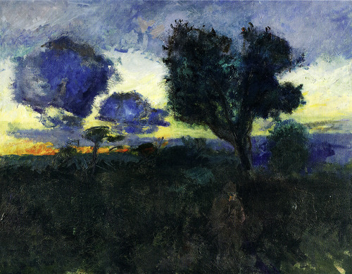 Oluf Høst Evening 1930