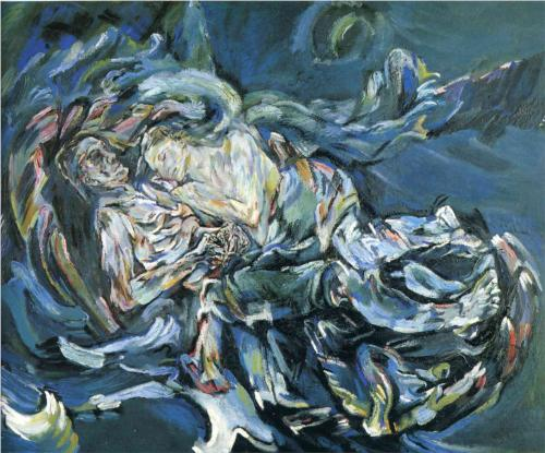 Oskar Kokoschka Bride of the Wind 1914
