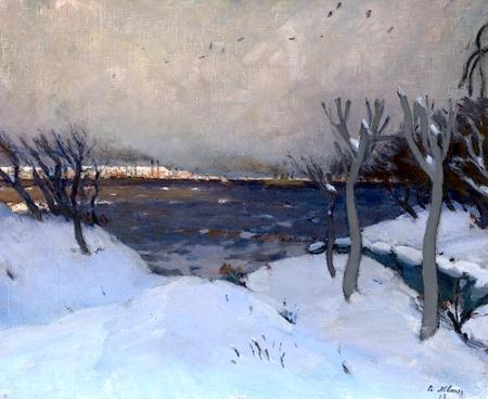 Petr Nilus Snowy Landscape