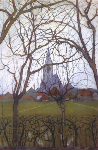 Piet Mondrian Village Church 1898