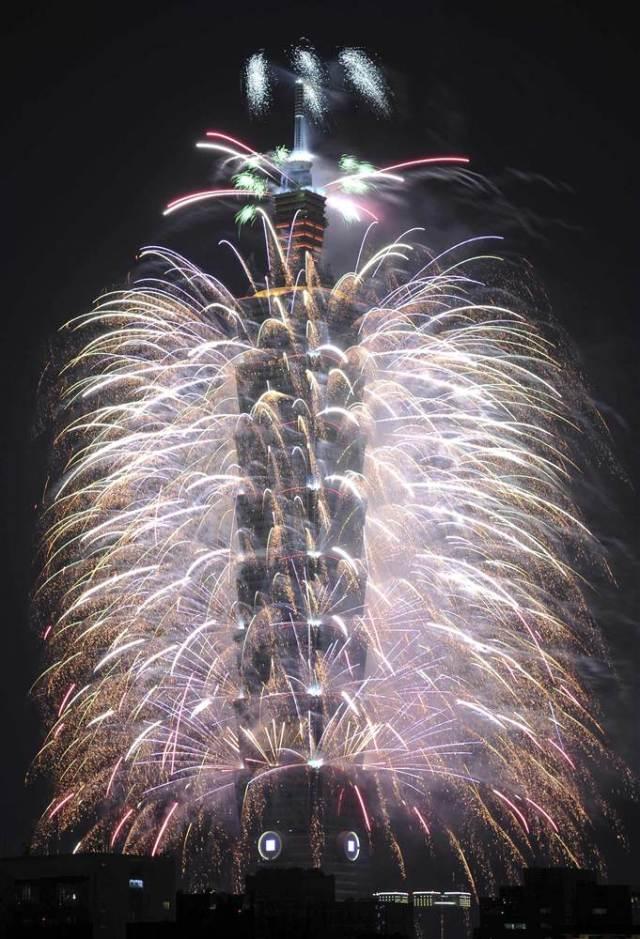 Taiwan 2014 fireworks