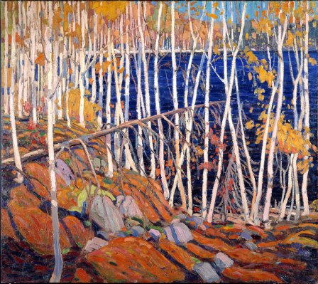 Tom Thomson In the Northland oil on canvas 1922