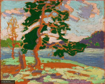 Tom Thomson The Pine Tree 1915 oil on board