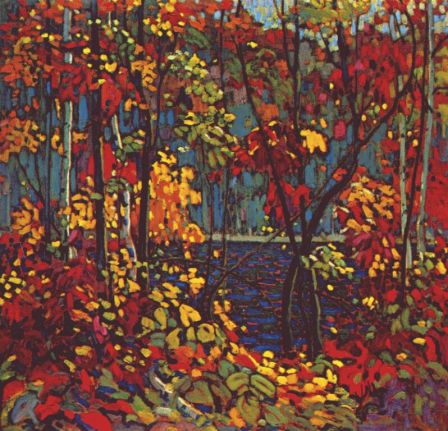 TomThomson-The-Pool-c1915
