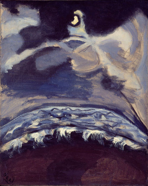 Alice Neel The Sea 1947 oil on canvas