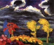 """""""Autumn Glow"""" (1925)"""
