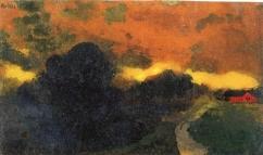 """""""Dark Landscape"""" (nd)"""
