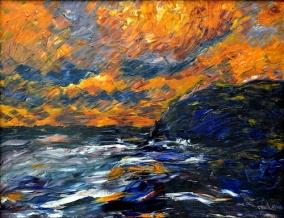 """""""Herbstmeer"""" (1910)"""