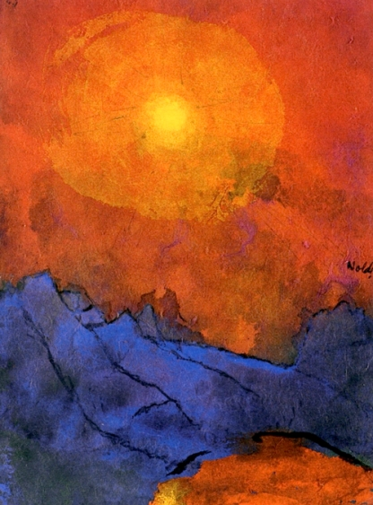 """""""Sunset over Blue Mountains"""" (1938)"""