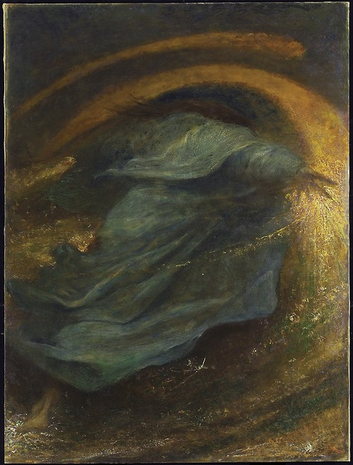 George Frederick Watts The Sower of the Systems 1902 oil on canvas