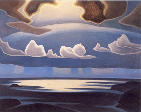 Lawren Harris, From the North Shore, Lake Superior 1923 or 27, oil on canvas