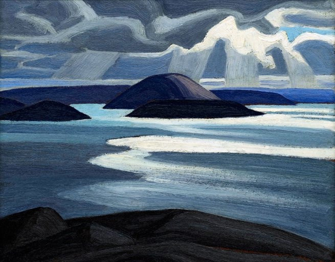 Lawren Harris Lake Superior, Sketch XLVII c1923 oil on panel