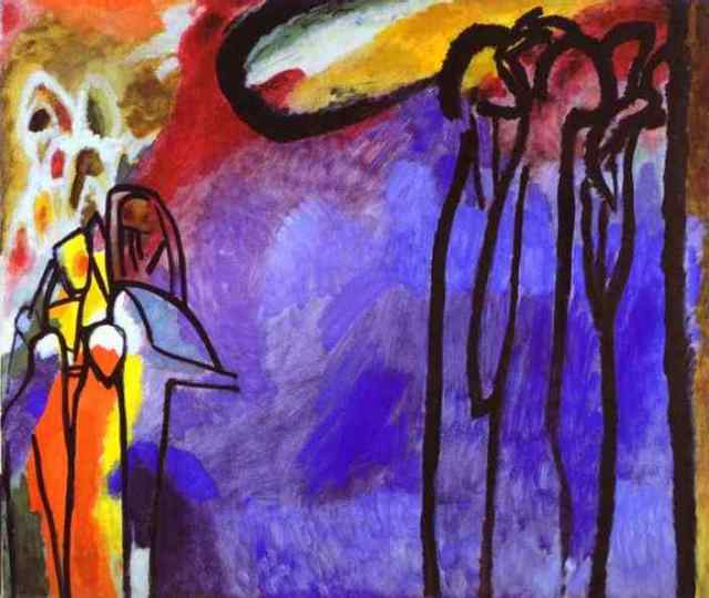 Wassily Kandinsky Improvisation 19 1911