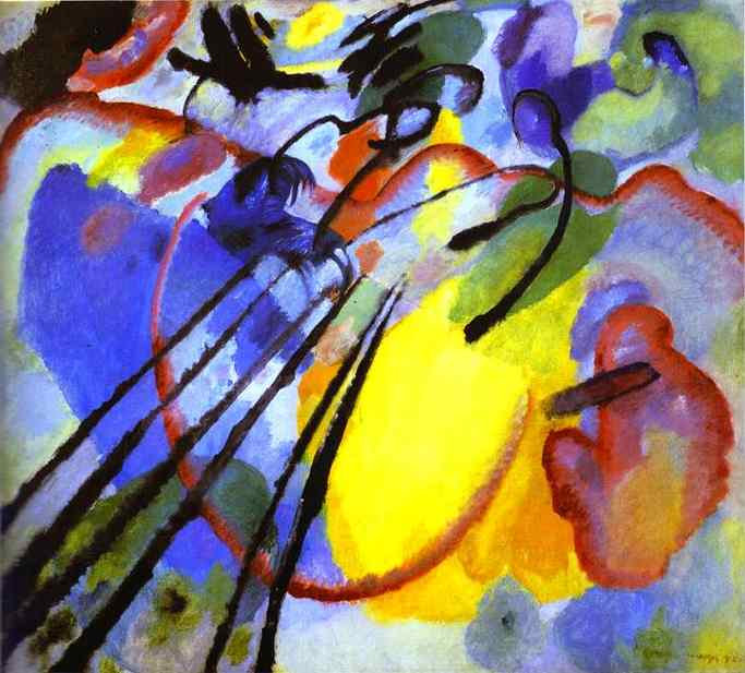 Wassily Kandinsky Improvisation 26 paren Oars 1912 oil on canvas