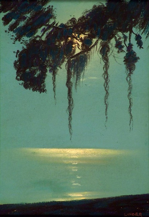 Harry Linder Moonlit Silhouette