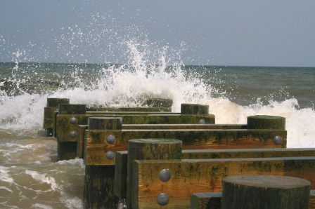 Rehoboth Beach Waves by Clearly Ambiguous fcc