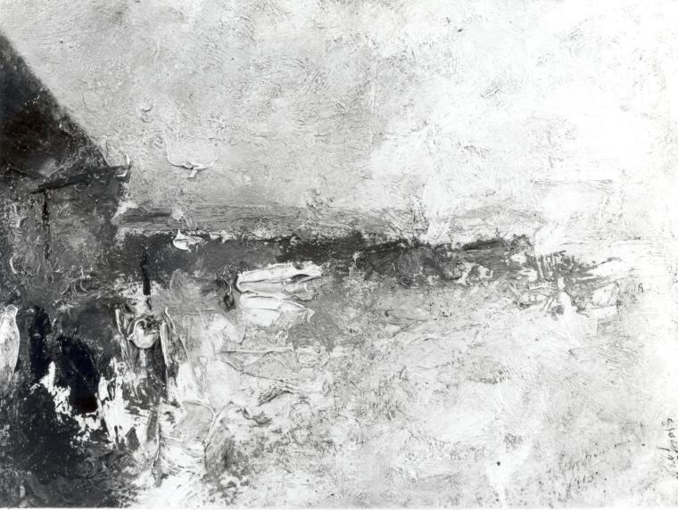 Edwin Dickinson O'Neil's Wharf, 1913 oil on composition board
