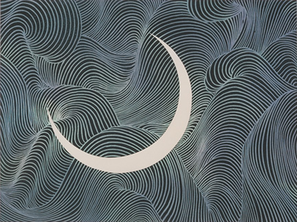 Kayama Matazo Moon 1983