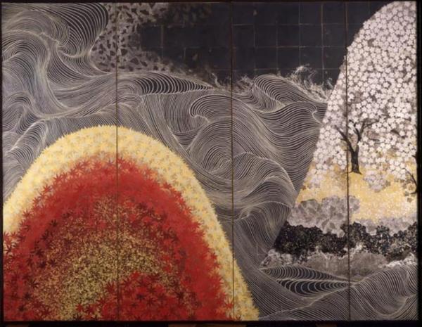 Kayama Matazo Waves in Spring and Autumn 1966
