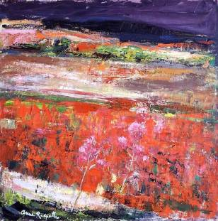 """The Poppy FIelds"" (c1963) by Anne Redpath"
