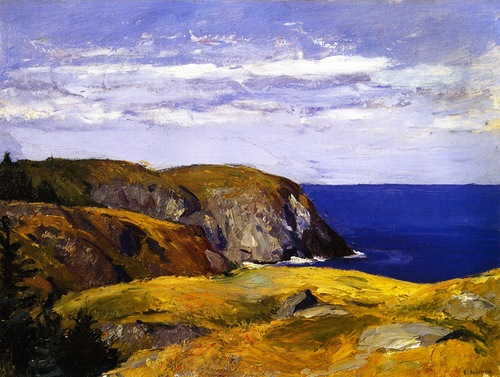 Edward Hopper Blackhead, Monhegan, Maine c1918