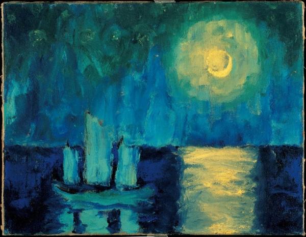 Emil Nolde Moonlit Night 1914
