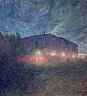 """""""Stormy Evening"""" (1898) by Eugène Fredrik Jansson"""