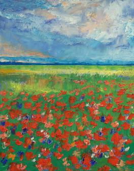 """""""Poppy Field"""" by Michael Creese (nd)"""