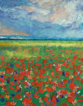 """Poppy Field"" by Michael Creese (nd)"