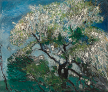 """Spring Breeze"" (1946, oil on canvas) by Otto Torsten Andersson"