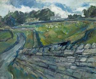 """Leadgate, Cumbria"" (1970, oil on canvas)"